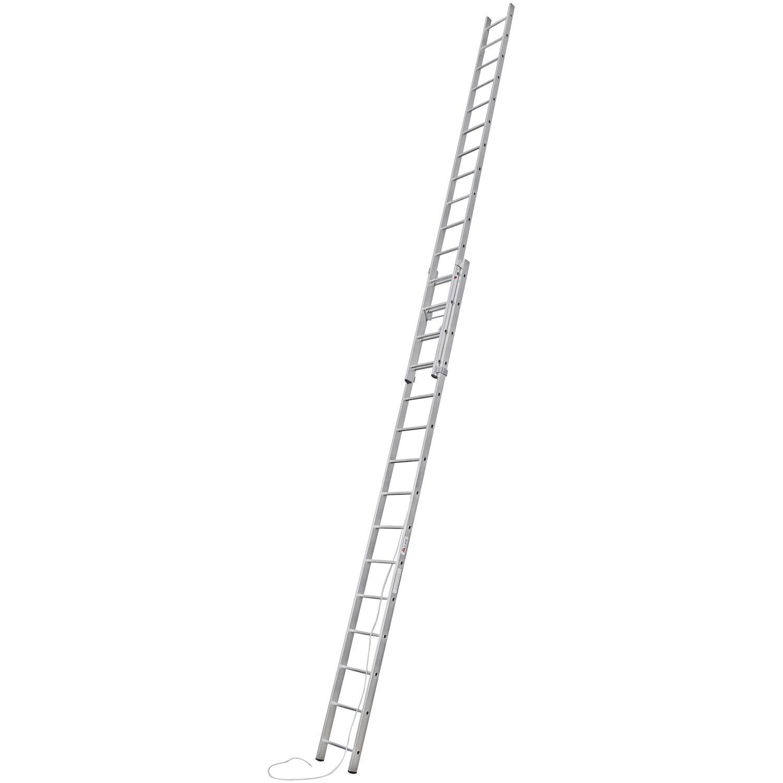 Alpe  Seilzug-Leiter 2 x 15 Sprossen Arbeitshöhe 7,95 m