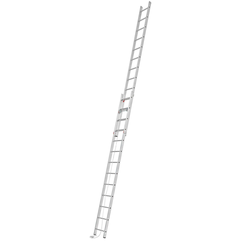 Alpe  Seilzug-Leiter 2 x 13 Sprossen Arbeitshöhe 6,89 m