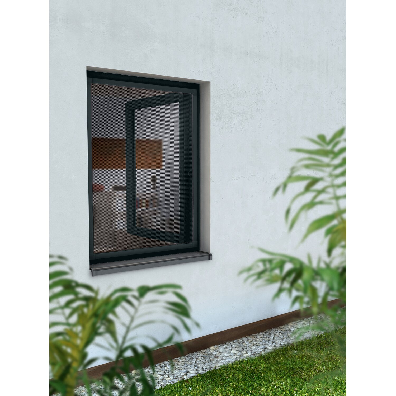 obi alurahmen fenster 80 cm x 100 cm anthrazit kaufen bei obi. Black Bedroom Furniture Sets. Home Design Ideas