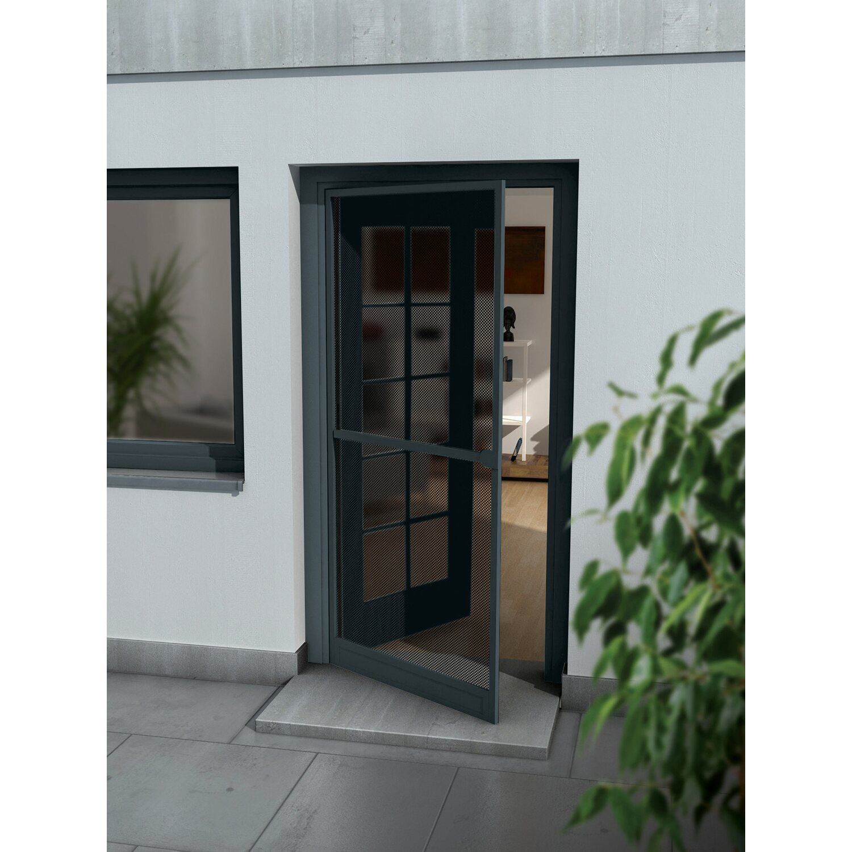 Zimmertüren anthrazit obi  OBI Alurahmen Tür 100 cm x 215 cm Anthrazit kaufen bei OBI
