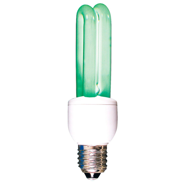 Energiesparleuchte EEK: B E27 / 11 W (649 lm) Grün