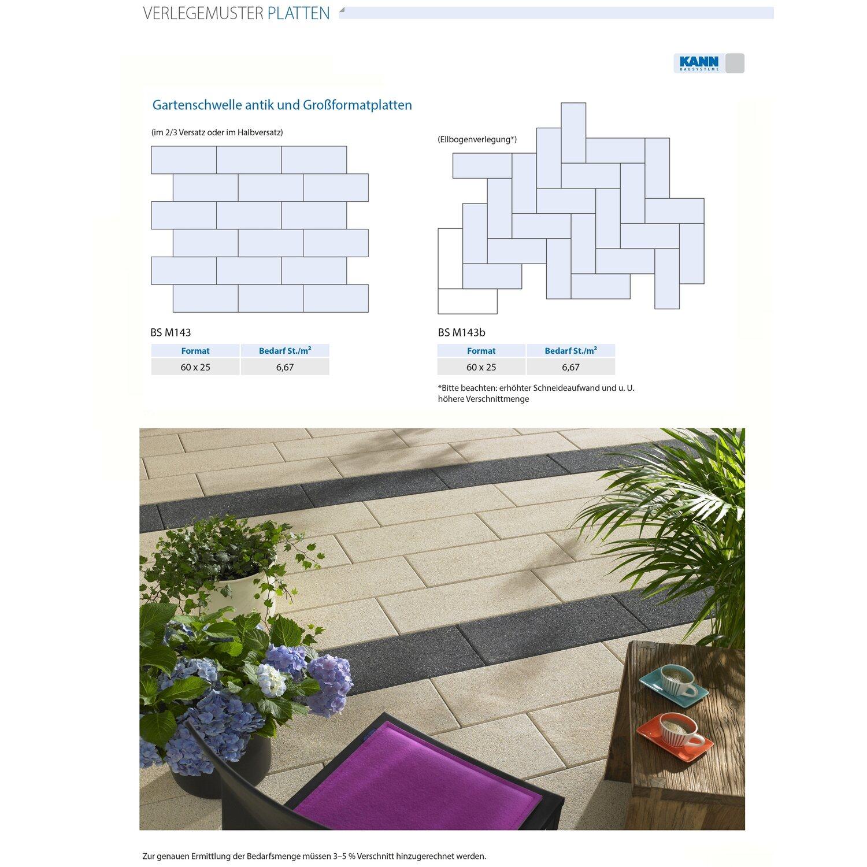 Terrassenplatte Beton Dallas Weiß Wassergestrahlt Cm X Cm X - Betonplatten 25x25