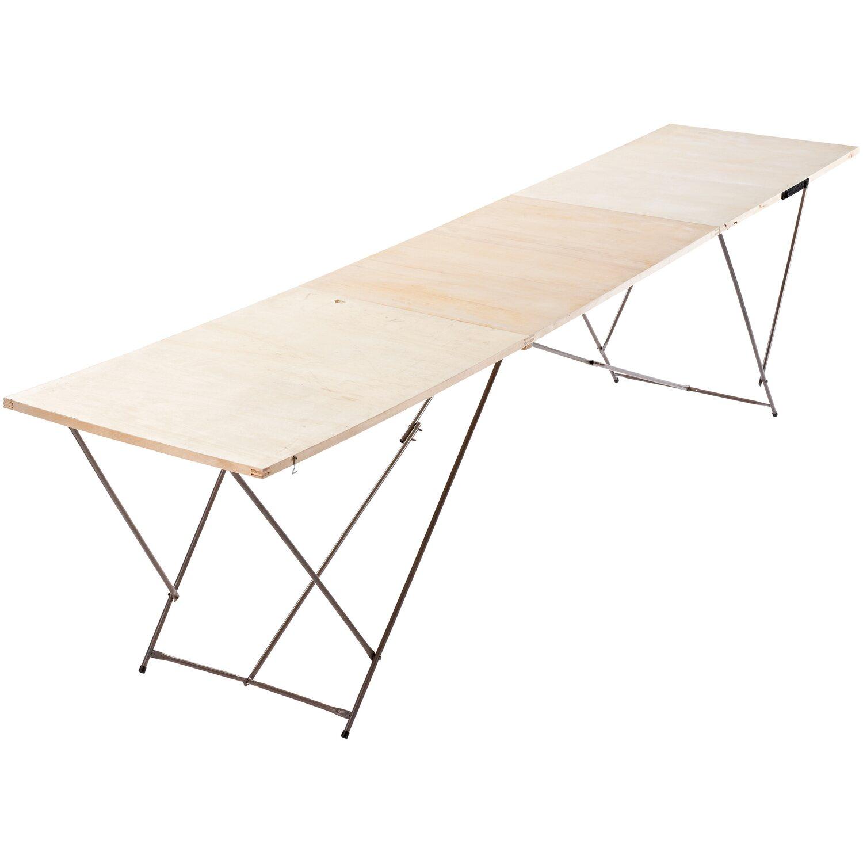 Tapeziertisch Holz 300 cm x 60 cm x 72 cm | Baumarkt > Malern und Tapezieren > Tapeziertische | Sonstige
