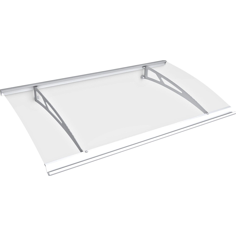 Pultbogenvordach Style Plus 1600 Classic Weiß/Klar 17 x 160 x 90 cm | Baumarkt > Modernisieren und Baün > Vordächer