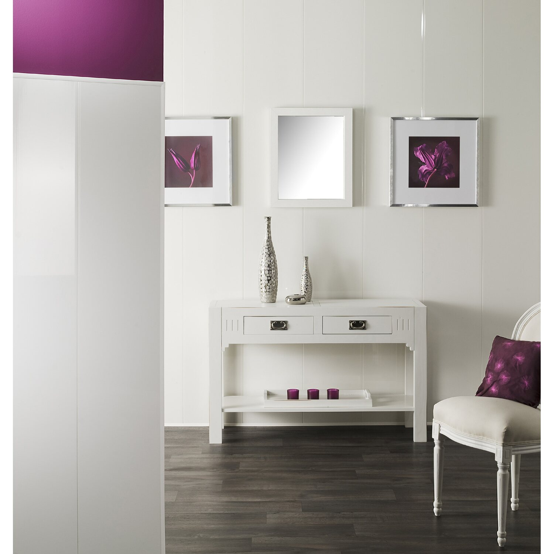 grosfillex paneel cottage weiss gl nzend 260 x 35 cm. Black Bedroom Furniture Sets. Home Design Ideas
