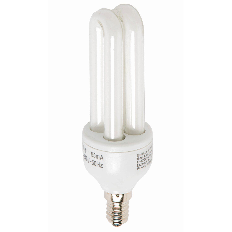 Energiesparlampe E14 / 11 W (550 lm) Warmweiß E...