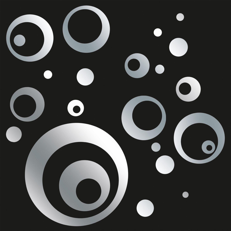 Eurographics EUROGRAPHICS Spiegelnde Wandaufkleber »Mirrorcircle«, 50/70 cm