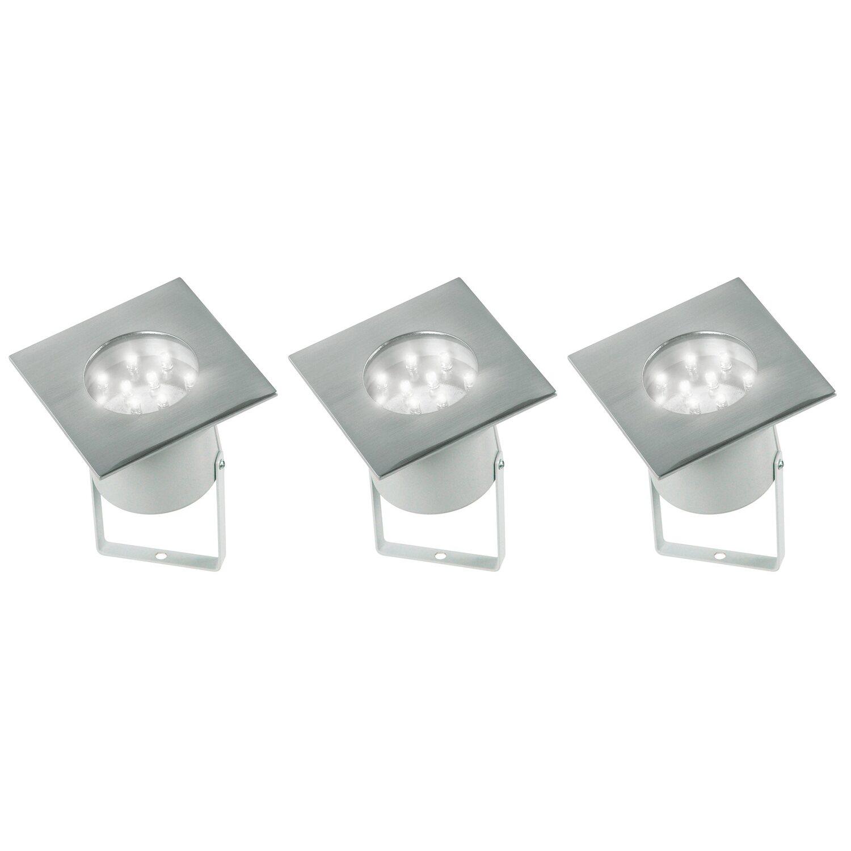Häufig LED-Bodeneinbaustrahler Evita 3er-Set EEK: A kaufen bei OBI MZ27