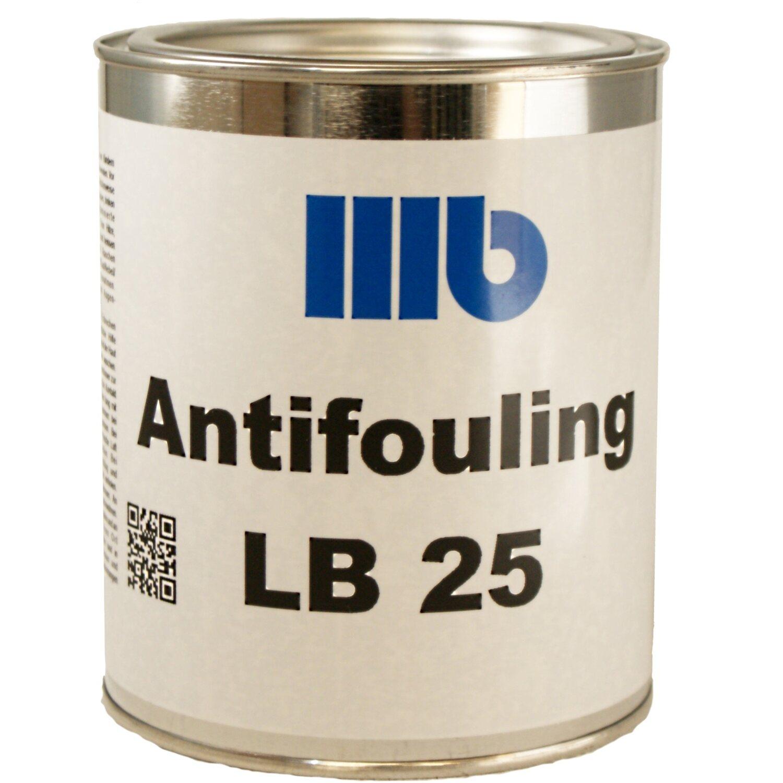 Wohlert  LB25 Antifouling Schwarz 750 ml