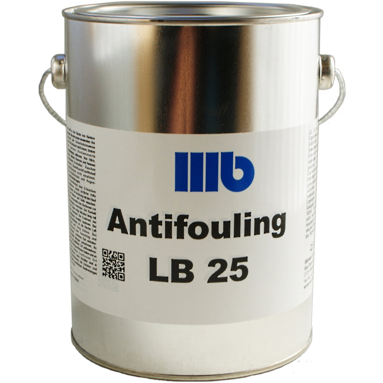 Wohlert  LB25 Antifouling Schwarz 2,5 l