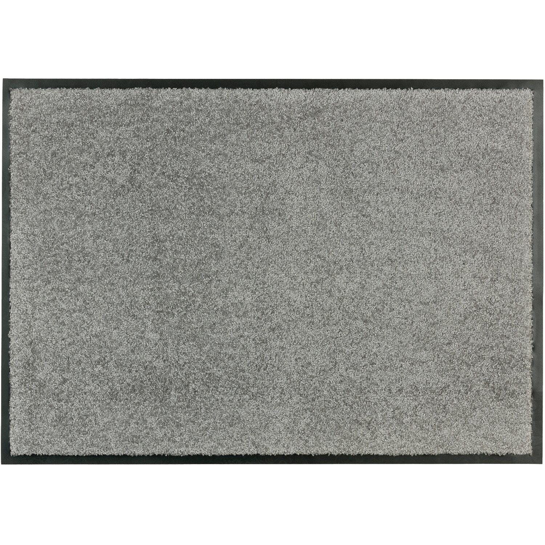 sch ner wohnen kollektion sauberlaufmatte broadway uni grau 70 cm x 110 cm kaufen bei obi. Black Bedroom Furniture Sets. Home Design Ideas