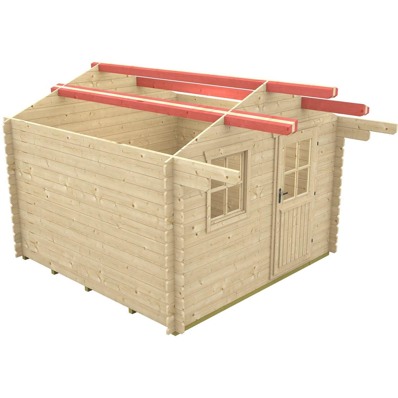 skan holz schneelasterh hung f r gartenhaus narvik 1 b x t. Black Bedroom Furniture Sets. Home Design Ideas