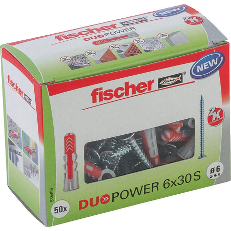 Fischer  Duopower 6 x 30 S LD mit Schraube