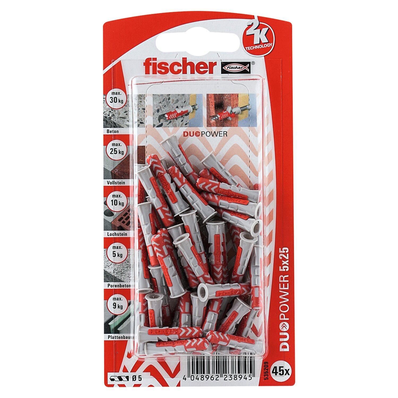 Fischer  Duopower 5 x 25 K (45 ST)