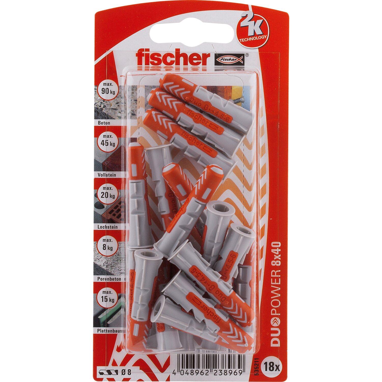 Fischer  Duopower 8 x 40 K (18 ST)