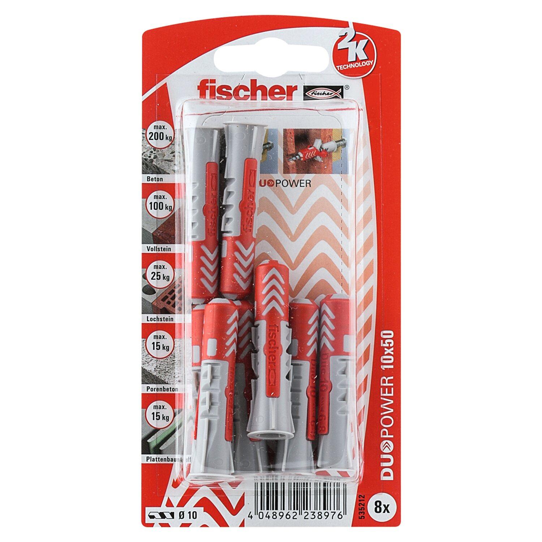 Fischer  Duopower 10 x 50 K (8 ST)