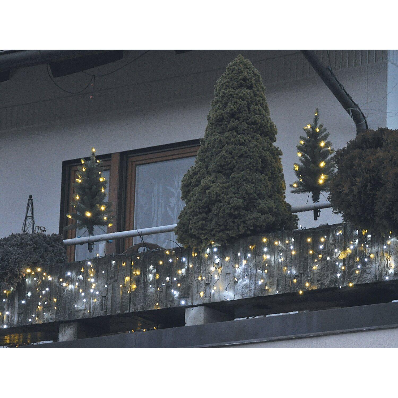 takasho k nstlicher weihnachtsbaum 2er set mit led. Black Bedroom Furniture Sets. Home Design Ideas
