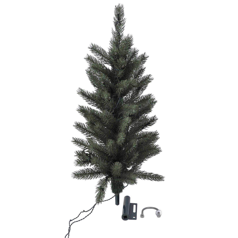 Künstlicher Weihnachtsbaum Mit Beleuchtung Kaufen.Takasho Künstlicher Weihnachtsbaum 2er Set Mit Led Beleuchtung