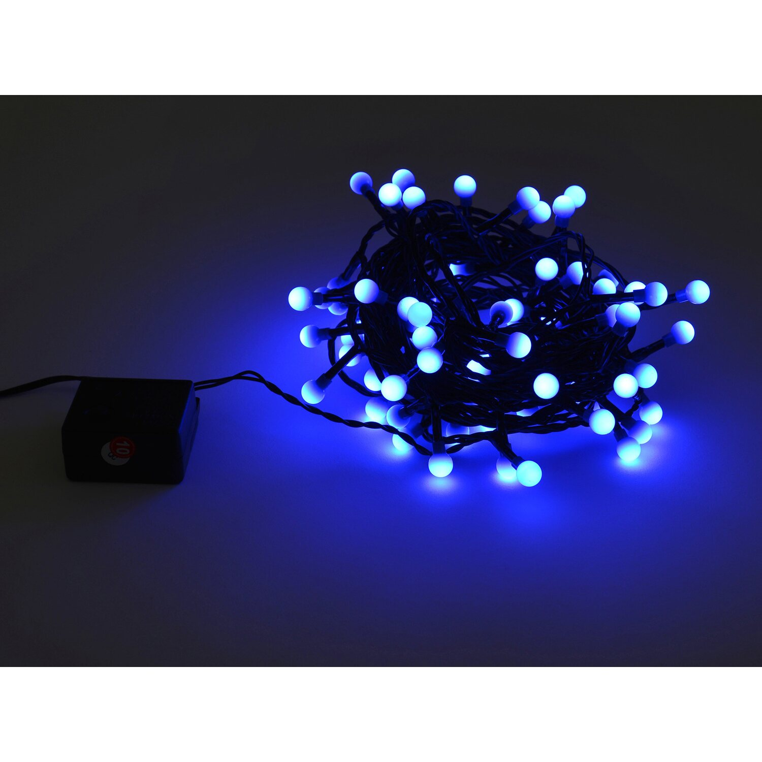 takasho lichterkette berry mit 80 led blau kaufen bei obi. Black Bedroom Furniture Sets. Home Design Ideas