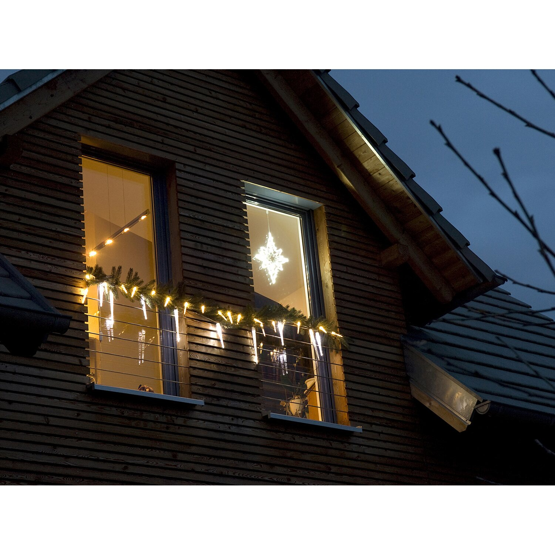 takasho lichterkette eiszapfen 40 led zapfen warmwei kaufen bei obi. Black Bedroom Furniture Sets. Home Design Ideas
