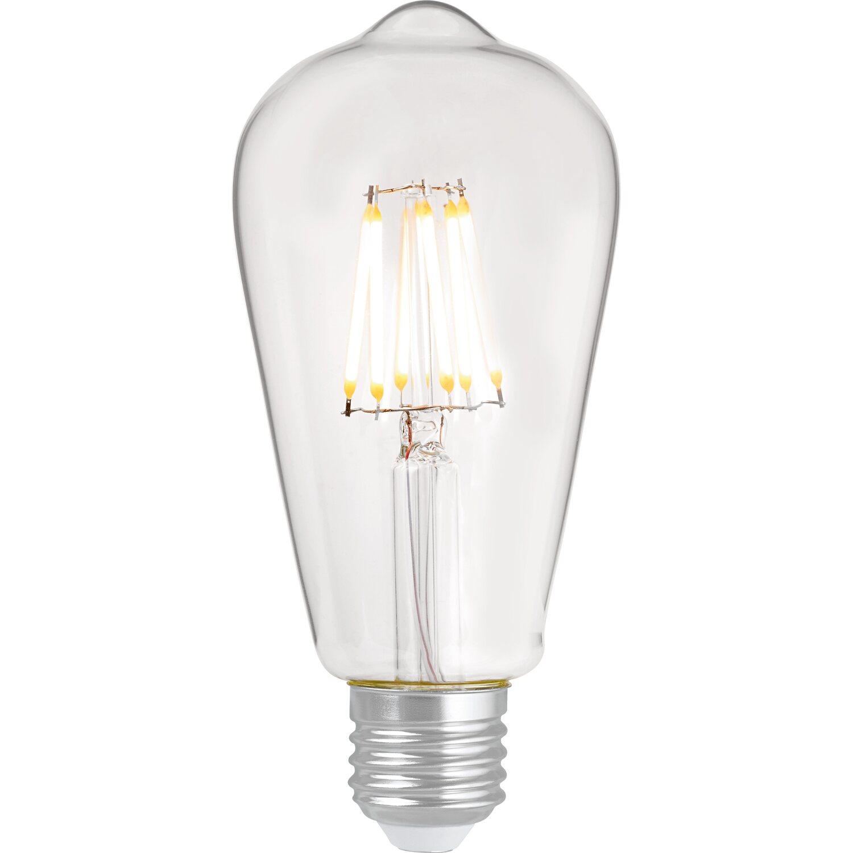 OBI LED-Filament-Leuchtmittel ST64 E27 / 6 W (806 lm) Warmweiß EEK: A++