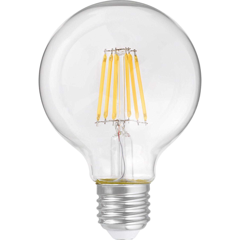OBI LED-Filament-Leuchtmittel Globeform E27 / 6 W (806 lm) Warmweiß EEK: A++