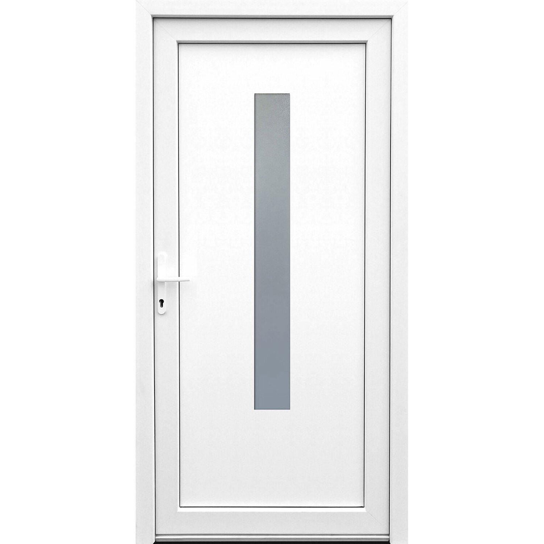 Sonstige Kunststoff-Mehrzwecktür 98 cm x 198 cm K506 DIN Links Weiß