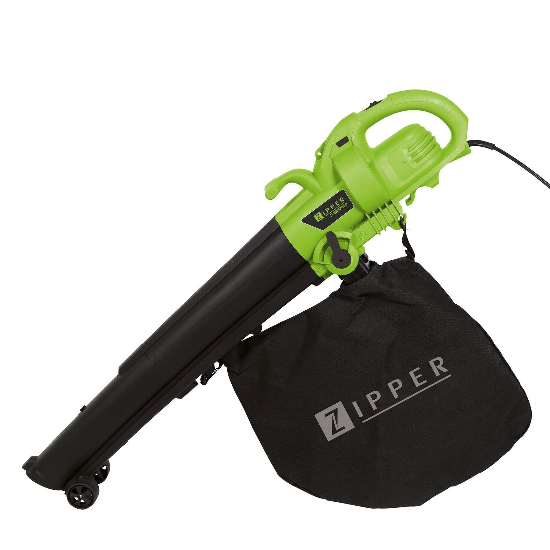 Zipper Elektro-Laubsauger ZI-SBH2600 | Garten > Gartengeräte > Laubsauger und Häcksler | Zipper