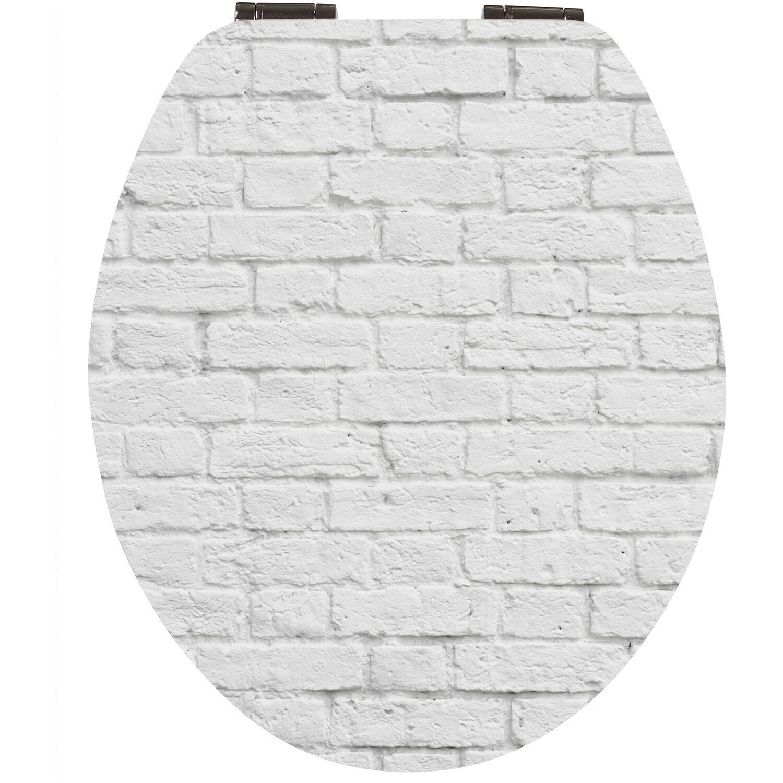 WC-Sitz High-Gloss Dekor Duenenblick mit Soft-Schließ-Komfort
