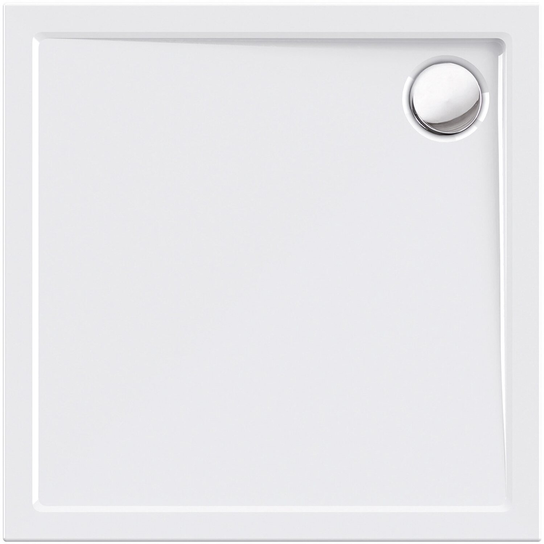 100 x 90 cm Duschtasse Duschwanne Acrylwanne Acryl Brausewanne 5 cm flach