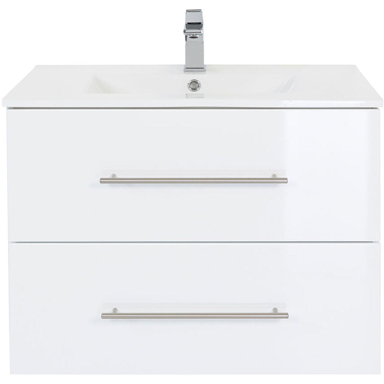 posseik waschplatz 70 cm homeline wei hochglanz kaufen. Black Bedroom Furniture Sets. Home Design Ideas