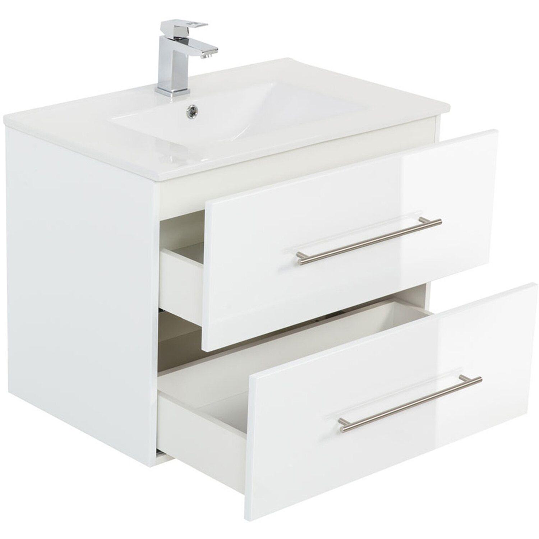 posseik waschplatz 70 cm homeline wei hochglanz kaufen bei obi. Black Bedroom Furniture Sets. Home Design Ideas