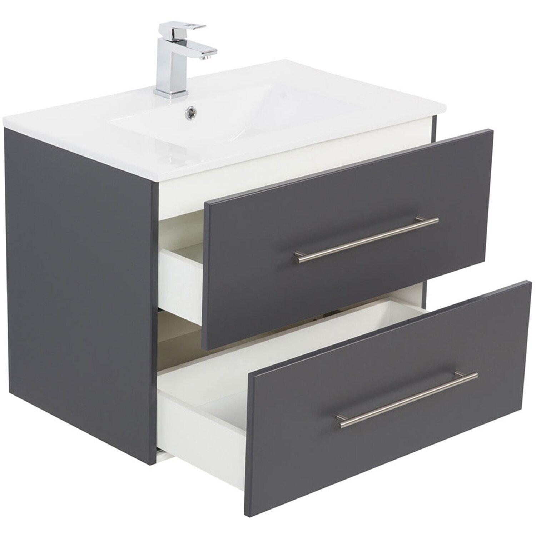 posseik waschplatz 70 cm homeline anthrazit kaufen bei obi. Black Bedroom Furniture Sets. Home Design Ideas