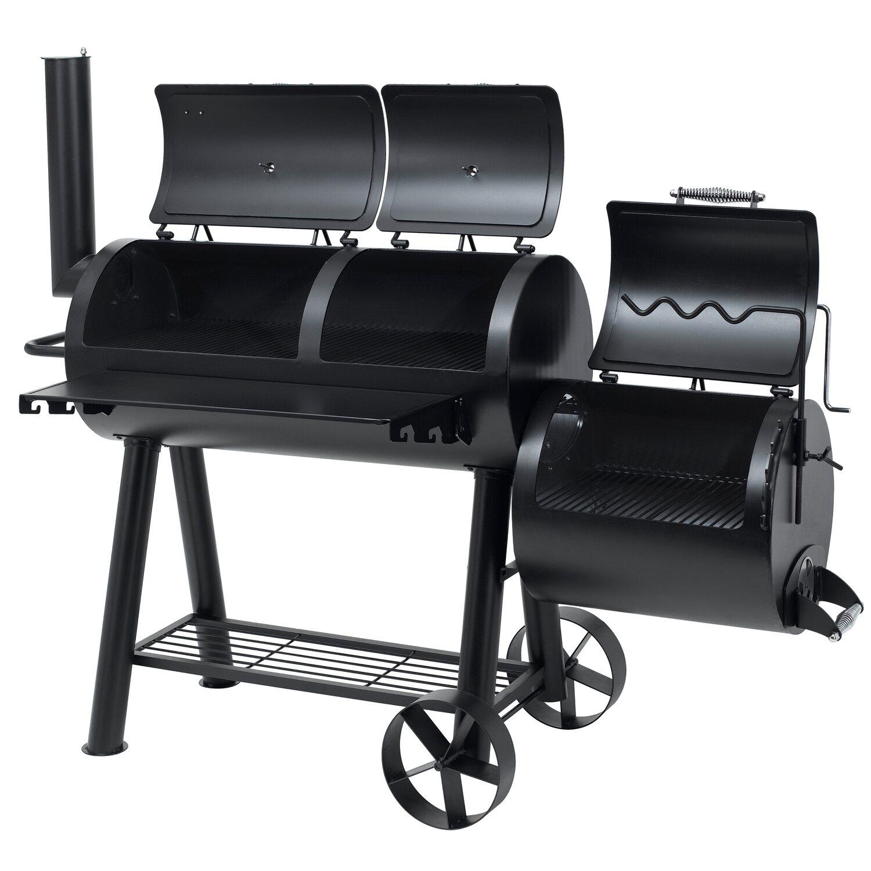 Tepro smoker indianapolis schwarz kaufen bei obi for Obi barbecue