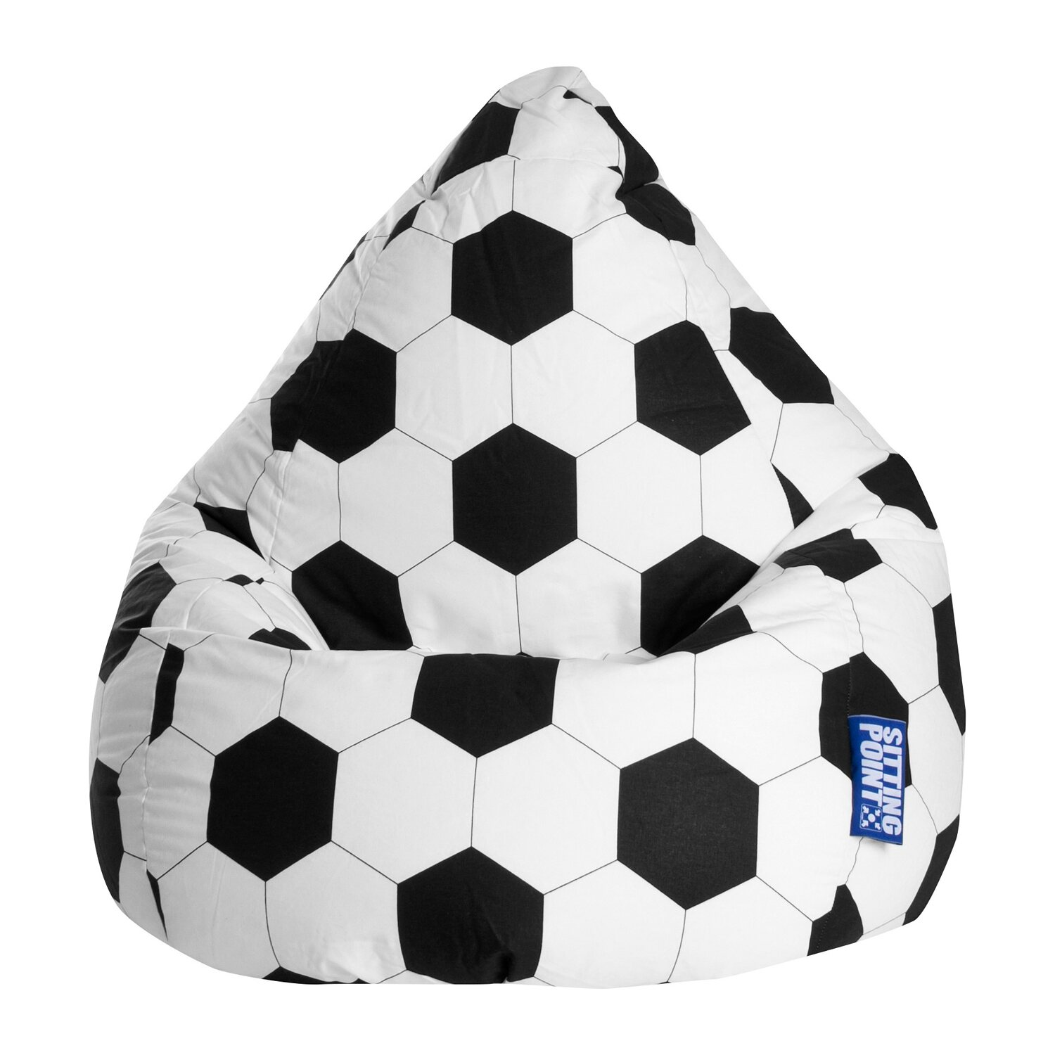 Sitting Point Sitzsack BeanBag Fussball L 120 l