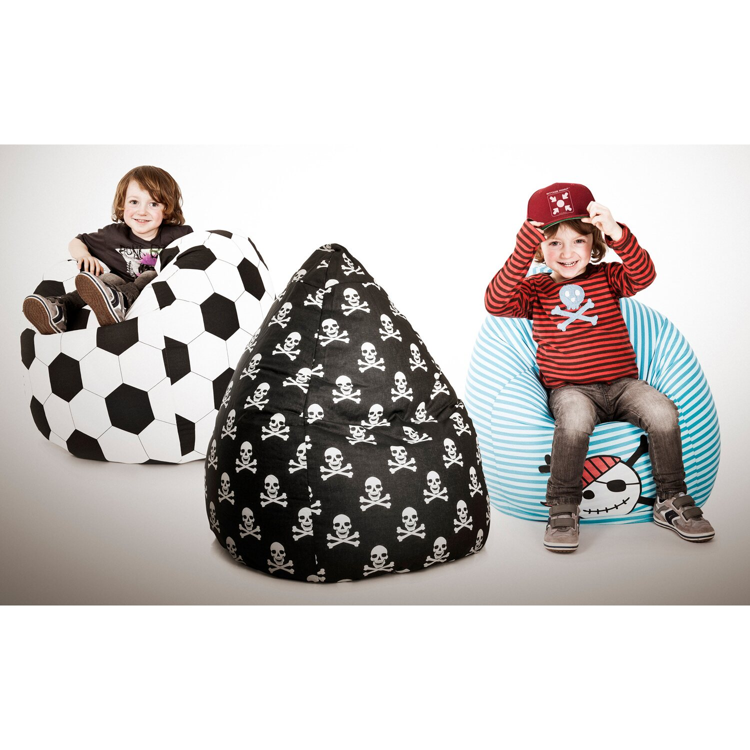 sitting point sitzsack beanbag fussball l 120 l kaufen bei obi. Black Bedroom Furniture Sets. Home Design Ideas