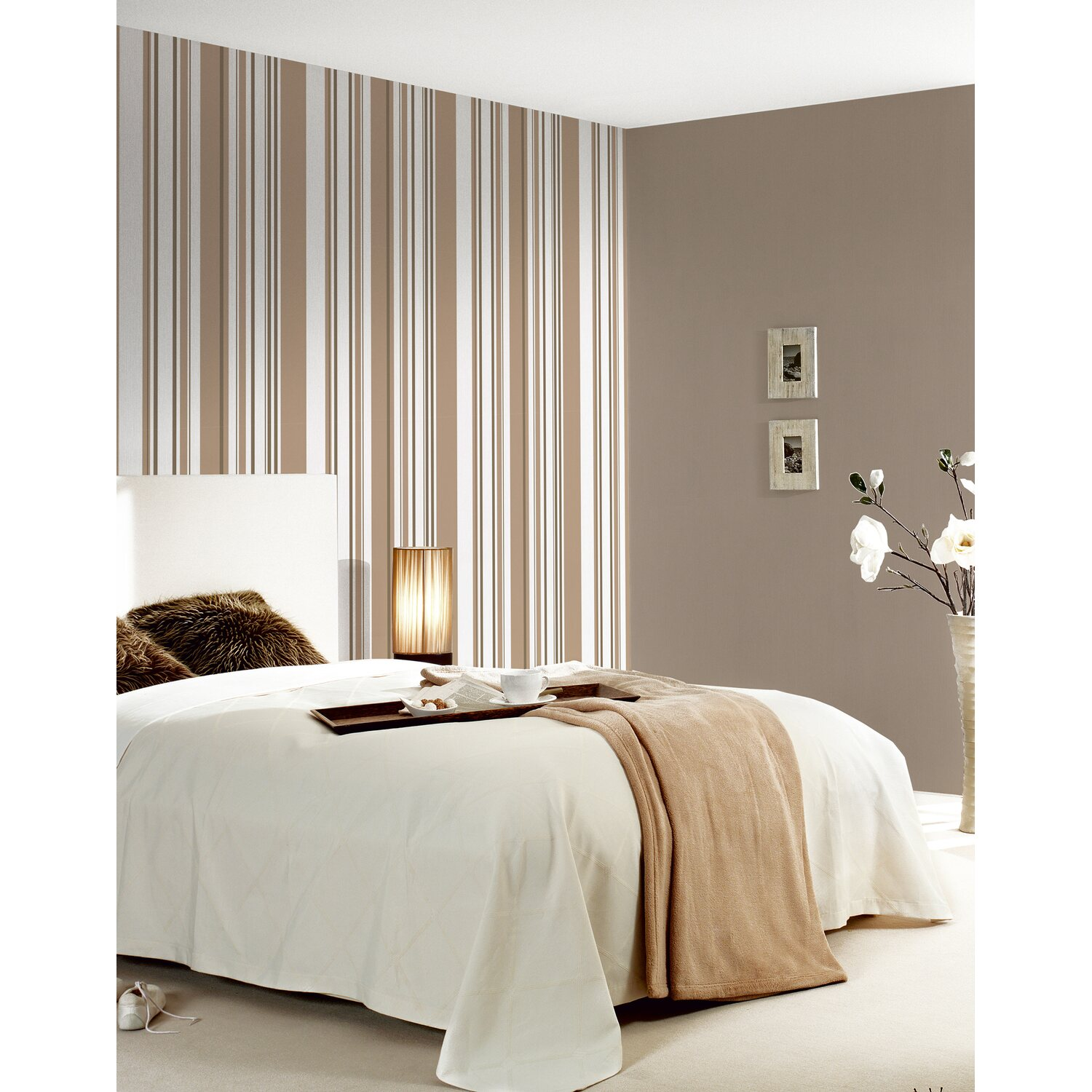 a s creation vliestapete primavera streifen beige kaufen bei obi. Black Bedroom Furniture Sets. Home Design Ideas