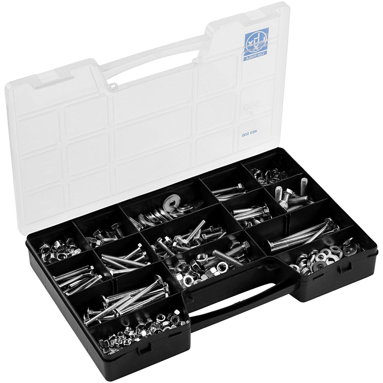 LUX Schrauben und Muttern Sortiment 560-teilig