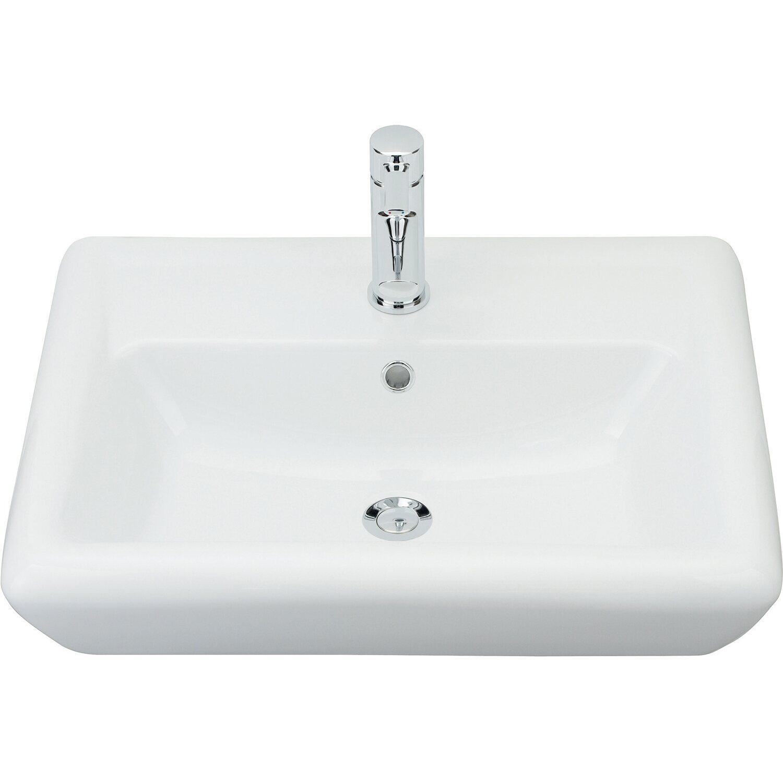 Innovativ Sanitop-Wingenroth The Start Waschbecken-Set 60 cm Weiß kaufen bei OBI ZG46