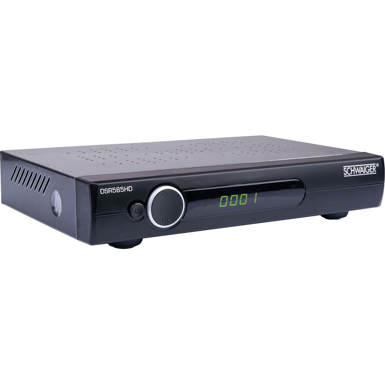 Schwaiger HD SAT-Receiver DSR585HD Schwarz