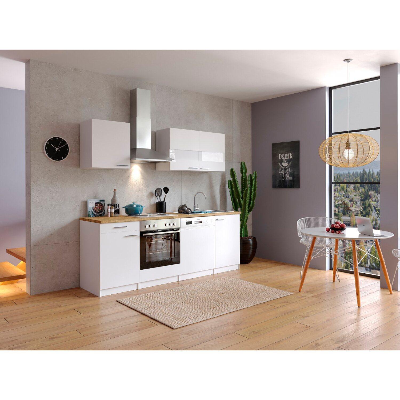 respekta k chenzeile kb220ww 220 cm wei kaufen bei obi. Black Bedroom Furniture Sets. Home Design Ideas
