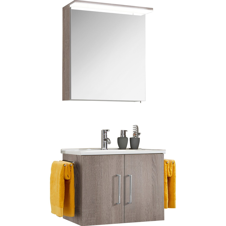 optifit badm bel set maxx 65 cm kastanie mit t ren 3. Black Bedroom Furniture Sets. Home Design Ideas