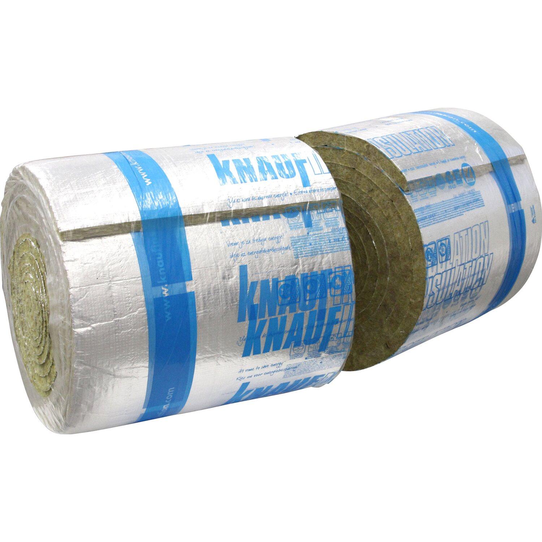 Knauf Insulation Knauf Steinwoll-Lamellenmatte LMF AluR 50 mm