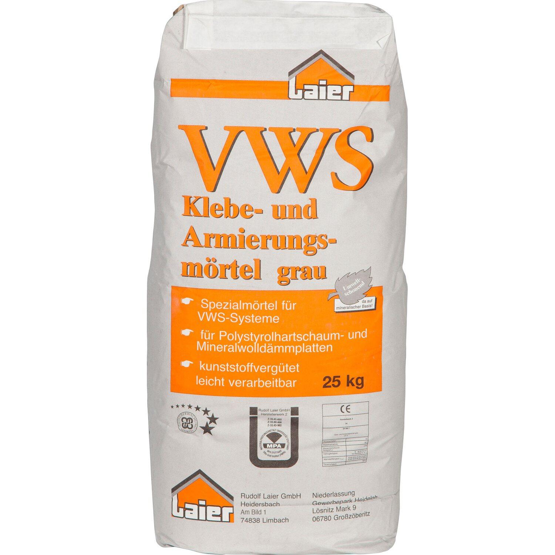 Laier Klebe- und Armierungsmörtel Grau 25 kg
