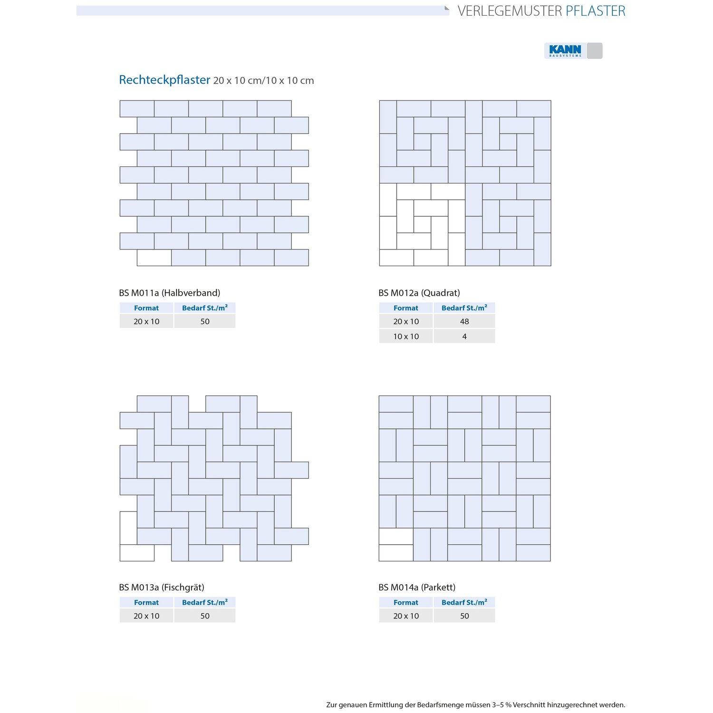 endstein zu rechteck-pflaster beton grau 10 cm x 10 cm x 8 cm kaufen