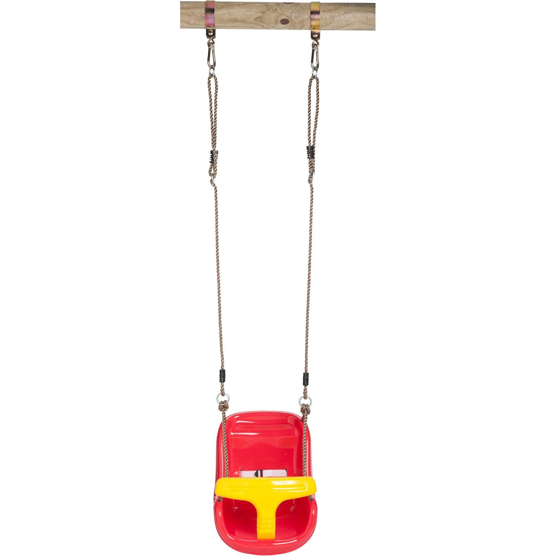SwingKing Babyschaukel Deluxe Rot-Gelb kaufen bei OBI