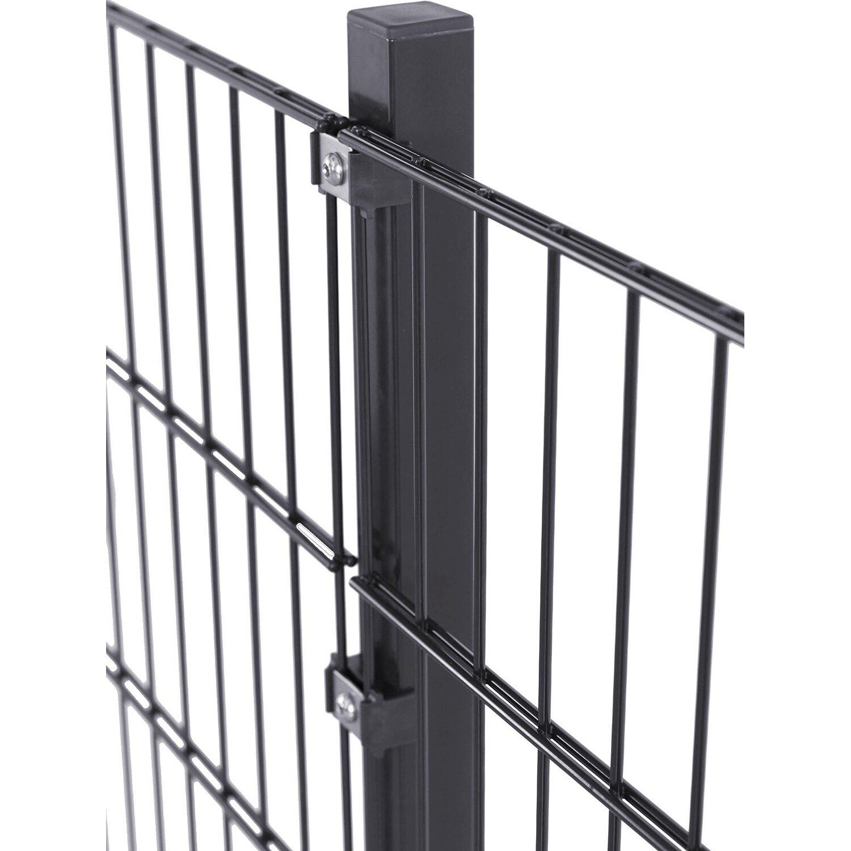 solid doppelstabmatte stahl anthrazit pulverbeschichtet 83. Black Bedroom Furniture Sets. Home Design Ideas