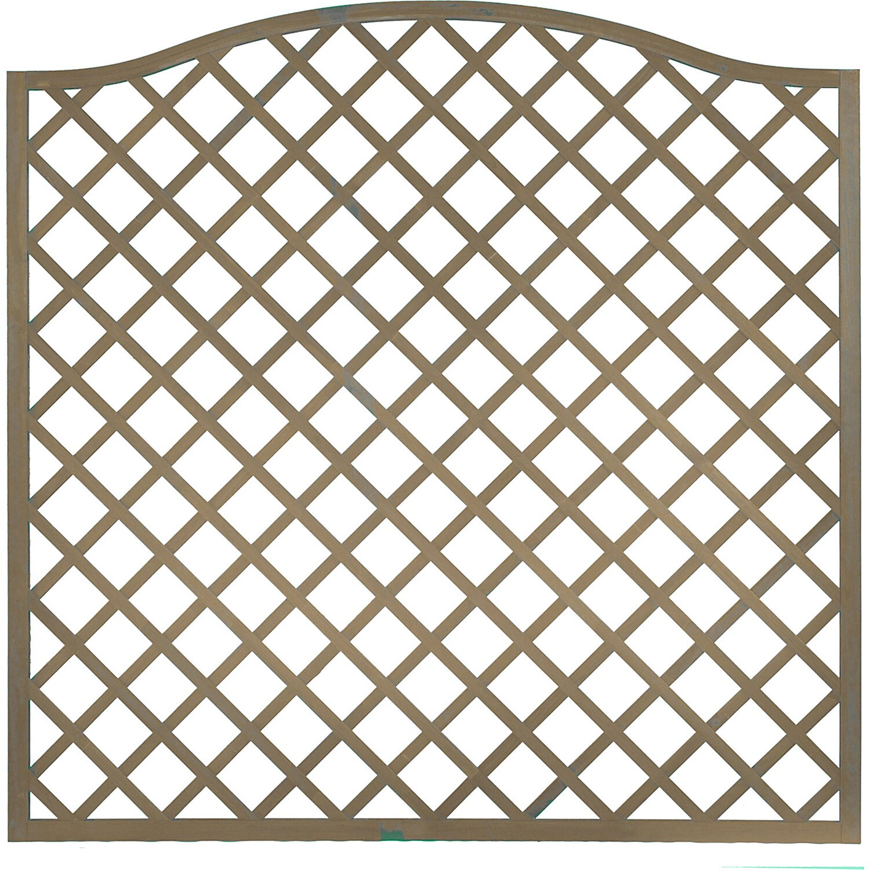 Sichtschutzzaun Element Pergola Grau 164 180 cm x 180 cm kaufen