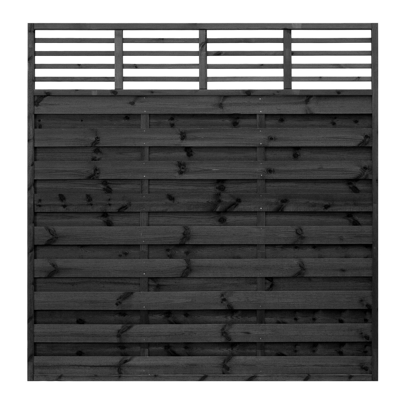 Sichtschutzzaun Element Bern Grau Getaucht 180 Cm X 180 Cm Kaufen