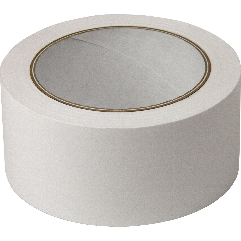 Sonstige PVC-Klebeband glatt Weiß 50 mm